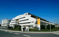 Lufthansa training centre, Frankfurt Airport, Hesse, Germany, Europe