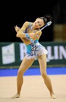 Rhythmic gymnastics, Irina Risenzon, Israel, Berlin Masters 2008 Grand Prix, Berlin, Germany, Europe