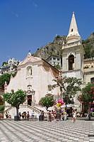 Church San Giuseppe, Taormina, Sicily, italy