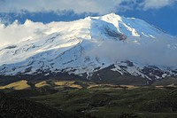 The Mountain Ararat with snow covering in the evening light, Turkey, Anatolia, East Anatolia, Dogubayzit