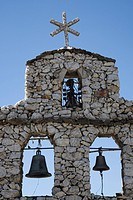 Bell_tower of the chapel in San Rafael, Mucuchies, Venezuela, South America