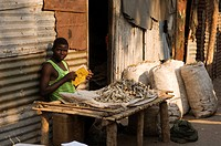 market scenery, Mozambique, Beira