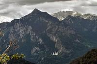 Neuschwanstein Castle, Germany, Bavaria, Allgaeu, Fuessen