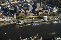 Hamburg at Elbe, gangway Bei der Erholung, Hamburg