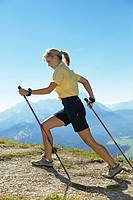 nordicwalking woman