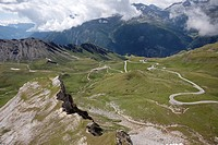 Viehbichl on the Grossglockner high alpine road, Heiligenblut, Carinthia, Austria, Europe