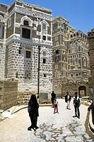 yemen, sana´a, daily life