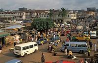 streetscene in Kumasi, Ghana