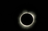 Total eclipse ofthe sun with corona