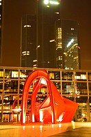 sculpture from 1976 by Alexander Calder in La Defense, France, Paris