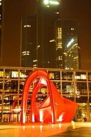 sculpture from 1976 by Alexander Calder in La Defense, France, Paris