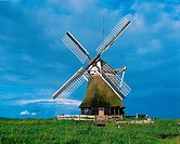 wind mill as water pump, Germany, Europe, Germany, Lower Saxony