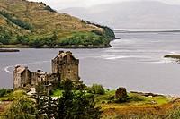Eilean Donan Castle on Loch Duich in Glen Shiel