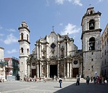 La Catedral, Cathedral of Saint Christopher of Havana, Cuba, Caribbean