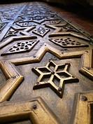 Puerta. Madrasa Mausoleo Al Nasir Mohamed. El Cairo, Egipto