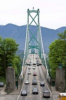 Lions Gate Bridge, Vancouver, British Columbia, Canada, North America