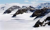 antarctic glacier valley, Antarctica, Suedpolarmeer