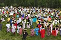 the silent peoples of Kainuu Reijo Kela, land art, Finland, Oulu, Suomussalmi