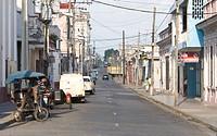 Street in Cienfuegos, Cuba, Caribbean, America