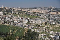 Israel, Jerusalem, View of the town