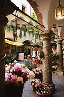 Austria, Salzburg, Souvenir shop