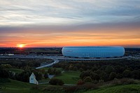 Germany, Bavaria, Munich, Allianz Arena