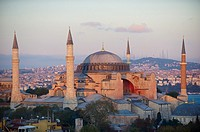 Hagia Sophia Mosque, Sultanahmet neighborhood, Istanbul, Turkey