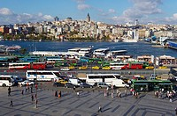 Golden Horn, Eminonu district, Istanbul, Turkey