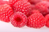 European red raspberry Rubus idaeus, Raspberries