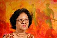 Artist Bernadette Persaud, Georgetown, Guyana, South America