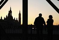 Basilica of Our Lady of Pilar Church, Zaragoza - Saragossa, Aragon, Spain