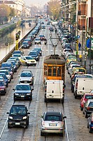 Traffic, Milan, Italy