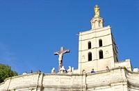 France, Provence, Avignon, Pope´s Palace