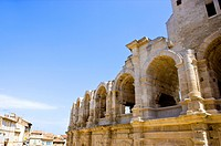 Antique Roman amphitheater´s in Arles, Provence_Alpes_Cote d´Azur, France