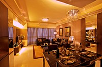 Interior Design _ Dining Room & Living Room