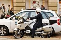 Motorbikes, Milan, Italy