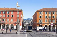 Nice, Provence-Alpes-Cote d'Azur, France, Europe (thumbnail)