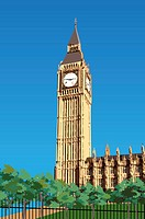 United Kingdom, London, Big Ben, Capital Cities (thumbnail)