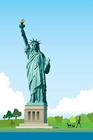 America, New York, Statue of Liberty, UNESCO, World Cultural Heritage (thumbnail)