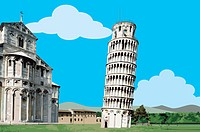 Italy, Pisa, Leaning Tower of Pisa, UNESCO, World Cultural Heritage