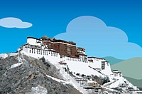 China, Tibet, Lhasa, Potala Palace, UNESCO, World Cultural Heritage
