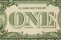 Dollar banknote, USA, Amerika
