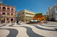 China, Macou, Senado Square, UNESCO, World Cultural Heritage