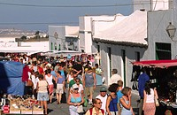 Sunday market in Teguise, Canary Islands, Lanzarote
