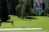 Golf course Schloss Georgshausen, Rhein-Berg-Masters-Finals, Lindlar, North Rhine-Westphalia, Germany