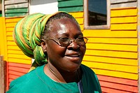 Chairwoman of the Rastafari Marcus Garvey Community, Cape Town, South Africa