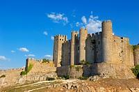 Obidos Castle. Now Hotel-Pousada. Obidos. Leiria distric. Estremadura. Portugal.