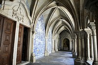 Cloister of the Se Cathedral, Porto, Portugal