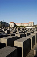 Berlin  Germany  Memorial to the Murdered Jews of Europe, Denkmal fu&#168;r die ermordeten Juden Europas