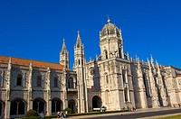Hieronymites Monastery. Mosteiro dos Jeronimos. Unesco. World Heritage Site. Belem. Lisbon. Portugal.
